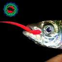 Силиконовая приманка Rockfish Bait Sea Worm 6.2cm/12 Yellow