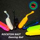 Силиконовая приманка Rockfish Bait Dancing Ball 4.2cm/25 OIL