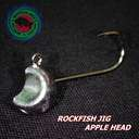 Джиг-головка Rockfish Jig Apple Head #8/1.2g