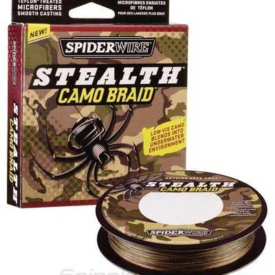 Шнур Spider Wire Stealth Smooth 8 Braid 150м 0.06мм Camo. Stealth Smooth 8 Braid 150м 0.06мм Camo