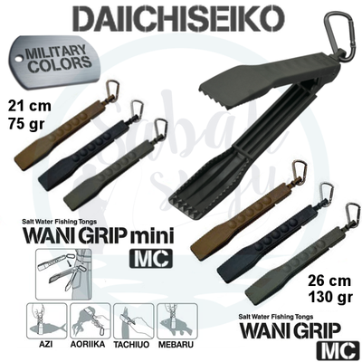 Захват для рыбы Daiichiseiko Wani Grip Mini MC Black. Daiichiseiko Wani Grip Mini MC Black