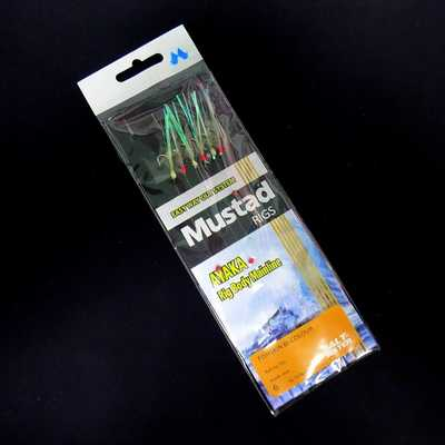 Сабики Mustad Fishskin Bi-colour T81. Mustad Fishskin Bi-colour T81