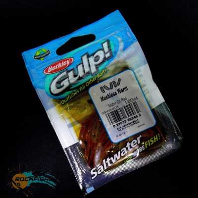 Berkley Gulp Mushiesa Worm 150ct/MOR. Berkley Gulp Mushiesa Worm 150ct/MOR