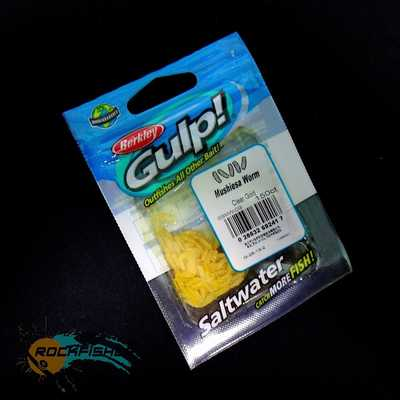 Berkley Gulp Mushiesa Worm 150ct/CG. Berkley Gulp Mushiesa Worm 150ct/CG