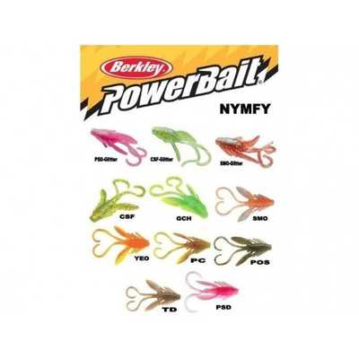 Berkley Powerbait Nymph 1'/2cm YEO. Berkley Powerbait Nymph 1'/2cm YEO