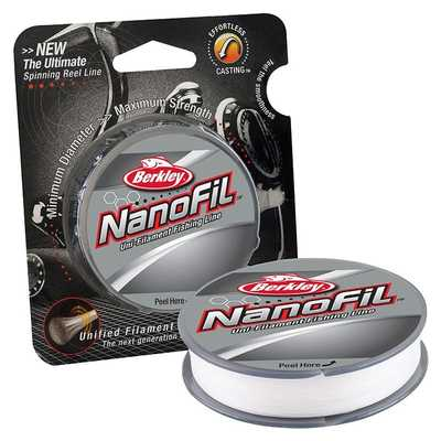 Berkley Nanofil 0.12mm/6.9kg/125m/chart. Berkley Nanofil 0.12mm/6.9kg/125m/chart