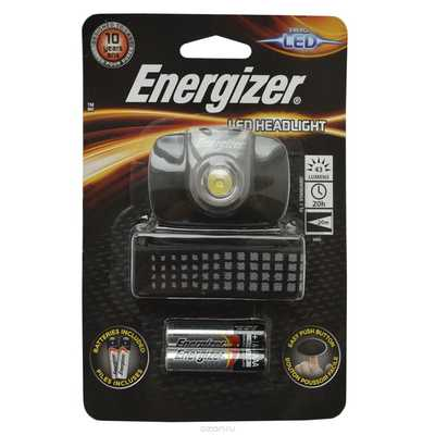 Фонарь налобный Energizer LED Head Light FL1. Energizer LED Head Light FL1