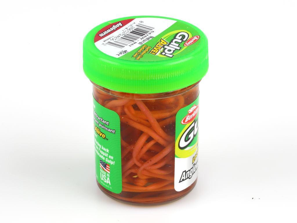 мягкая приманка berkley gulp alive angle worm